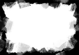 black paint frame png