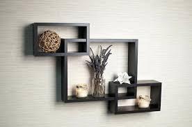 espresso wall shelf b intersecting boxes espresso color wall shelf espresso wall shelf with hooks