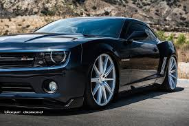 2015 Chevy Camaro Fitted With 22 Inch BD-9's in Silver - Blaque ...