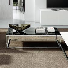 Exceptional ... Prairie Coffee Table | Black Marble Top | Chrome Legs