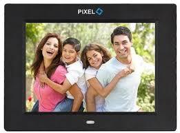 pixel digital photo frame 10 inch black
