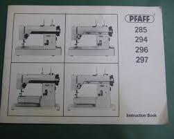 Pfaff 297 Sewing Machine