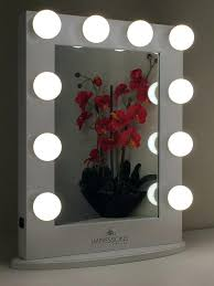 vanities lighted makeup vanity sets items similar to classic furniture hollywood lighted makeup vanity tabletop mirror