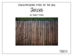 best wilson plays ideas wilson 10 characterization webs for the play fences by wilson