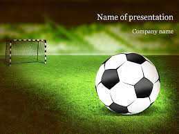 Football Powerpoint Template Soccer PowerPoint Template Templates Pinterest Template And 7