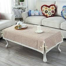 simple fashion striped tablecloth tea table mats cloth round mat e