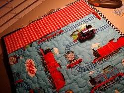 Thomas the Train Quilted Play Mat | Play mats, Quilt tutorials and ... & Thomas the Train Quilted Play Mat #quilt tutorial by Debbie from Homemaking  Dreams Adamdwight.com