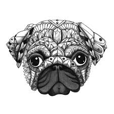 coloring pages superior pug coloring pages lovely großzügig pugs coloring pages galerie malvorlagen von tieren