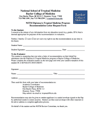 28 Printable College Recommendation Letter Forms And Templates