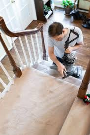 Laminate flooring can be installed on stairs, or anywhere else that you would install hardwood flooring. The Best Carpet For Stairs Solved Keep This In Mind While Shopping Bob Vila