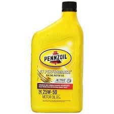 pennzoil gt performance racing sae 20w 50 12 1 quart case