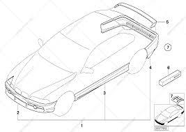 Aerodynamics package for bmw 3' e46 330ci coupe usa