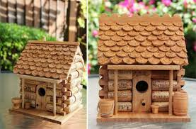 wine cork crafts for kids to make wine cork diy birdhouse diy projects