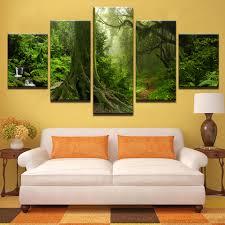 Modern <b>Canvas Home</b> Decor Framework <b>Wall Art</b> Poster 5 Panel ...