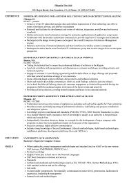 Cloud Architect Senior Resume Samples Velvet Jobs