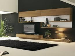Living Room Tv Stand Designs Living Room Furniture Modern Brown Polished Wooden Tv Stand