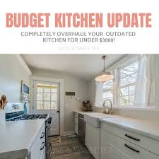 Budget For Kitchen Remodel Budget Farmhouse Kitchen Remodeling Ideas Love Sweet Tea