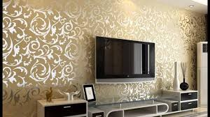 Wallpaper Design Home Decoration Wallpaper design for living room Home decoration ideas 100 YouTube 12