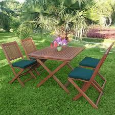 hardwood 4 seater garden dining set