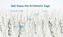 Image result for seki kowa