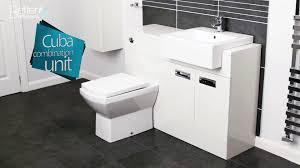 Sink And Toilet Combo Cuba Left Hand Combination Unit