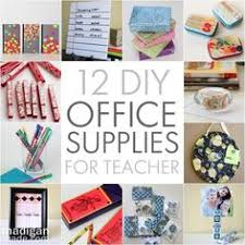 roundup 11 diy home office. 12 pretty diy office supplies to make for teacher madigan made simple ideas roundup 11 diy home a