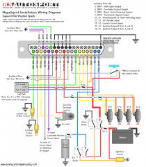 car speaker wiring diagram stereo in kwikpik me ford radio wire harness color codes at Car Speaker Wiring Diagram