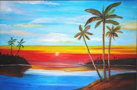 easytopaintlandscapes easy landscape paintings for beginners