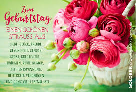 Postkarten Geburtstag Ein Sehr Schönes Blumenmotiv Deutsch