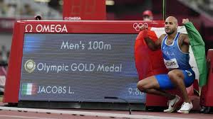 Italy's lamont marcell jacobs became the fastest man in the world when took gold in the mens 100m final at the tokyo olympics on sunday — taking the spot held for the past 13 years by the now. Jwmpphn25hg6sm