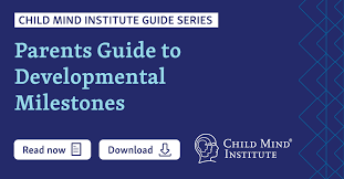 In the above graph, the mean age is plotted for various stages of knowledge of counting numbers: Parents Guide To Developmental Milestones Child Mind Institute