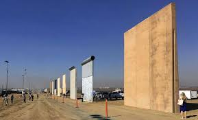 prototypes of border walls in san go in 2017 president donald trump was scheduled to