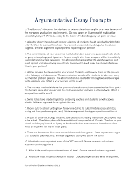 Sample - Argument essay topics ideas - Topics, Examples