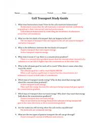 Cell Processes And Energy Answer Key Cells And Organelles ...