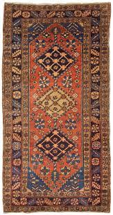 antique heriz rug persia