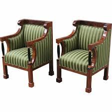 comfy brown wooden sunroom furniture paired. rare pair of comfortable biedermeier bergeres comfy brown wooden sunroom furniture paired e