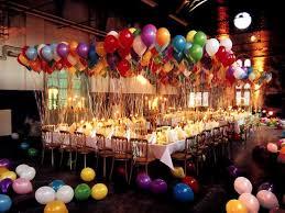 Balloon Dinner Party