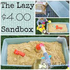 a lazy way to have a sandbox for just 4