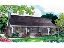 French Country Delight With Gorgeous Views HWBDO76445  French French Country Ranch Style House Plans