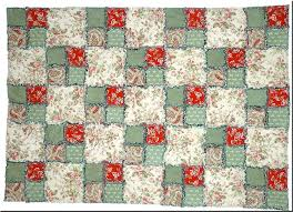 Free Rag Quilt Patterns to Help You Make Cuddly Quilts & Four Patch Rag Quilt Pattern Adamdwight.com