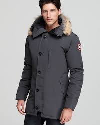 Canada Goose Chateau Parka with Fur Hood in Gray for Men (Graphite) Canada  Goose