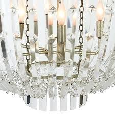 gray lighting naples chandelier aidan