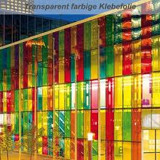 Transparent Farbige Klebefolie Für Glasoberflächen