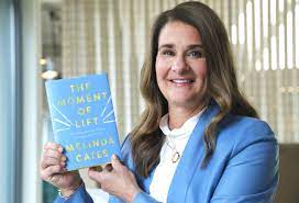 Melinda Gates pushes for gender equality and women empowerment in her book  'The Moment of Lift'