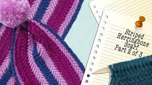 Striped Scarf Knitting Pattern Unique Design Inspiration