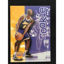 Jun 05, 2021 · 1996 topps # 138 kobe bryant rc rookie card psa 8.5 la lakers black mamba $1,527.83 $1,608.24 previous price $1,608.24 5% off 5% off previous price $1,608.24 5% off Sold Price 1997 Skybox Kobe Bryant Rookie Card March 3 0121 5 00 Pm Edt