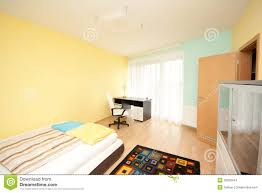 Pastel Colors Bedroom Simple Bedroom Stock Images Image 36362344