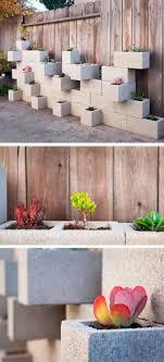 Venha para a telhanorte e aproveite bloco de concreto ecobloco para jardim vertical 40x20x21cm para a sua obra. 5 Ideias Para Usar Blocos De Concreto No Seu Jardim