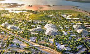 google isnt feeling lucky after mountain view city council chokes hq plans plan for googles mountain view campus inhabitat green design innovation big heatherwick futuristic google hq