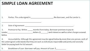 Cash Advance Agreement Template Loan 5 Templates Contract Free Templ ...